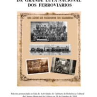 DA GRANDE LUTA NACIONAL DOS FERROVIÁRIOS<br /><br />