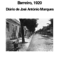Barreiro, 1920<br /><br /> Diário de José António Marques